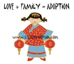 Love + Family = Adoption