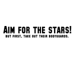 Aim For the Stars T-shirts