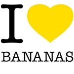 I LOVE BANANAS