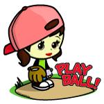 Baseball/Softball Girl