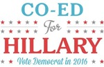 Co-Ed for Hillary