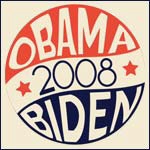 Retro Vintage Obama-Biden 2008 Campaign