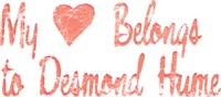 My Heart Belongs to Desmond Hume