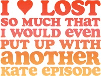 I Love Lost So Much...
