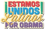 Estamos Unidos: Latinos For Obama Shirts