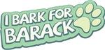 I Bark For Barack Dog Swag
