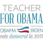Teacher For Obama