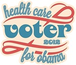 Health Care Voter for Obama 2012 Shirts