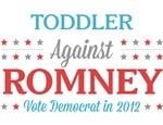 Toddler Against Romney