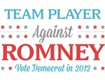 Team Player Against Romney