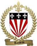 ROULEAU Family Crest