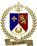 SIMONEAU Family Crest