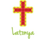 Latonya Bubble Cross