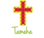 Tameka Bubble Cross