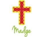 Madge Bubble Cross