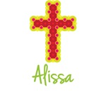 Alissa Bubble Cross