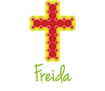 Freida Bubble Cross
