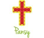 Pansy Bubble Cross