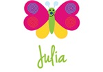 Julia The Butterfly