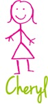 Cheryl The Stick Girl