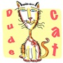 Dude Cat t-shirts and gifts