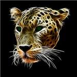 African Leopard Head