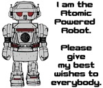 Best Wishes From Atomic Powered Toy Robot
