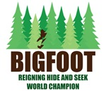 Bigfoot Sasquatch Hide and Seek World Champion