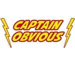 Captain Obvious Superhero