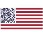American Flag National Anthem QR Code