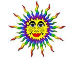 4. Rainbow Sun