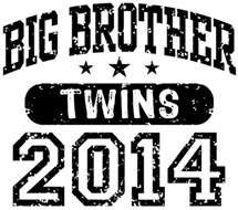 Big Brother Twins 2014 t-shirt