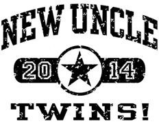 New Uncle Twins 2014 t-shirt