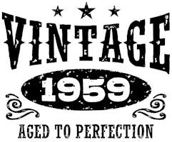 Vintage 1959 t-shirts