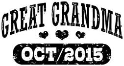 Great Grandma October 2015 t-shirt