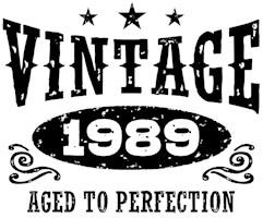 Vintage 1989 t-shirts