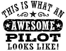 Awesome Pilot t-shirt