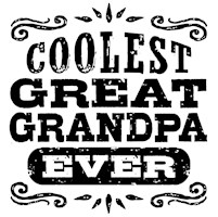 Coolest Great Grandpa Ever t-shirt