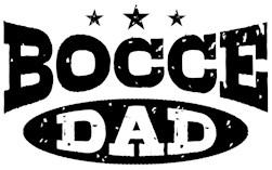 Bocce Dad t-shirt