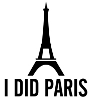 I Did Paris t-shirt