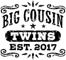 Big Cousin Twins Est. 2017 t-shirt