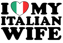 I Love My Italian Wife t-shirts