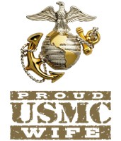 Proud USMC Wife t-shirts