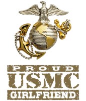 Proud USMC Girlfriend t-shirts
