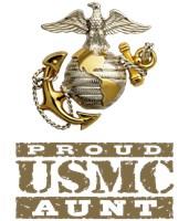 Proud USMC Aunt t-shirts