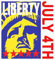 Liberty July 4th t-shirts