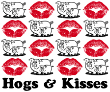 Hogs & Kisses t-shirts
