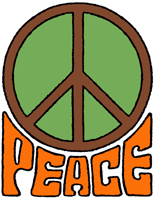 Retro Style Peace T-Shirt