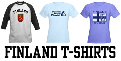 Finland t-shirts and gifts