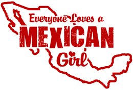 Mexican Girl t-shirts